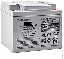 Bateria 12 Voltios 45 Amperios MK M45-12 SLD M