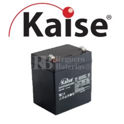 Batería 12 Voltios 5,4 Amperios Kaise KB1250