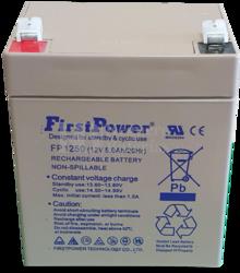 Batería 12 Voltios 5 Amperios FirstPower FP1250