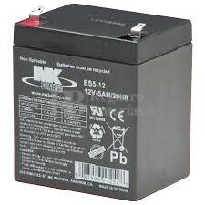Bateria 12 Voltios 5 Amperios MK ES5-12