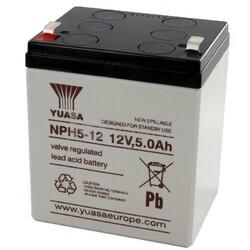 Batería 12 Voltios 5 Amperios YUASA NPH5-12