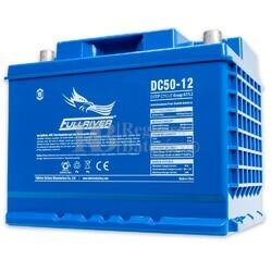 Batería 12 Voltios 50 Amperios DC50-12A Fullriver