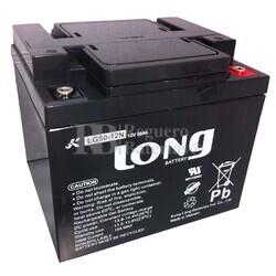 Batería 12 Voltios 50 Amperios Gel Movilidad LG50-12