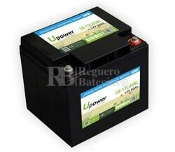 Batería Litio Bluetooth 12 Voltios 50 Amperios UE-12Li50BL