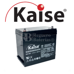 Batería 12 Voltios 51,7 Amperios Kaise Ciclo Profundo KBC12550