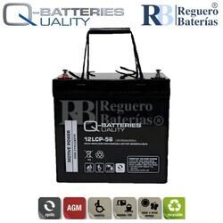 Batería 12 Voltios 56 Amperios 12LCP-56 Cíclica