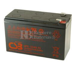 Batería 12 Voltios 580 Watios Csb UPS12580F2