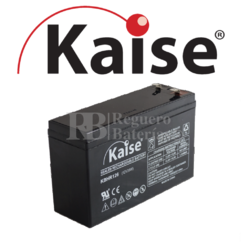 Batería 12 Voltios 6,5 Amperios Kaise High Rate KBHR1260