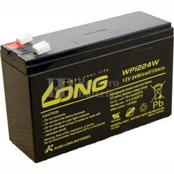 Batería 12 Voltios 6,5 Amperios Long WP1224W