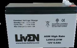 Batería 12 Voltios 6 Amperios LVH1221W