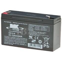 Bateria 12 Voltios 6 Amperios MK ES12-6