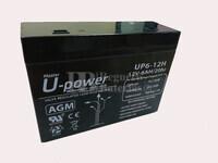 Batería 12 Voltios 6 Amperios UP6-12H