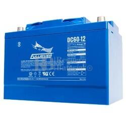 Batería 12 Voltios 60 Amperios DC60-12 Fullriver