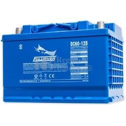 Batería 12 Voltios 60 Amperios Fullriver DC60-12B
