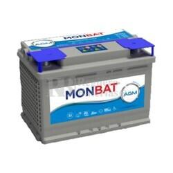 Batería 12 Voltios 60 Amperios MONBAT DC AGM 81060