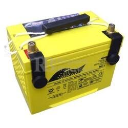 Batería 12 Voltios 65 Amperios Fullriver HC65 ST