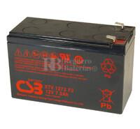 Batería 12 Voltios 7,2 Amperios XTV1272 F2