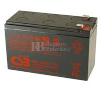 Batería 12 Voltios 7,2 Amperios Csb UPS12360-7F2