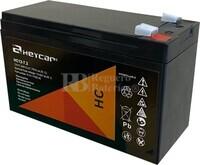 Batería 12 Voltios 7,2 Amperios Heycar HC12-7.2