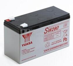 Batería 12 Voltios 7,8 Amperios 280 Watios Yuasa SW280