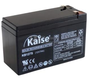 Batería 12 Voltios 7 Amperios Kaise KB1270