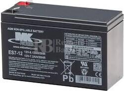 Bateria 12 Voltios 7 Amperios MK ES7-12
