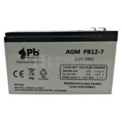 Batería 12 Voltios 7 Amperios PB12-7