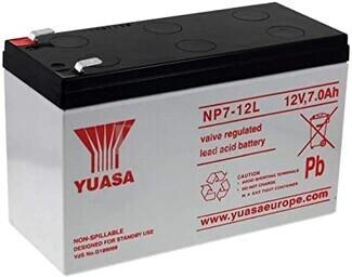 Batería 12 Voltios 7 Amperios Yuasa NP7-12L