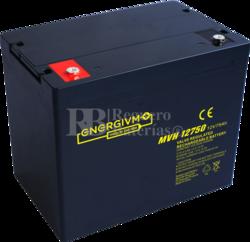 Batería 12 Voltios 75 Amperios Energivm MVH12750