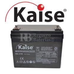 Batería 12 Voltios 75 Amperios Kaise Long Life KBL12750