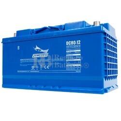 Batería 12 Voltios 80 Amperios Fullriver DC80-12
