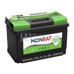 Batería Coche 12 Voltios 80 Amperios MONBAT PREMIUM 80Ah