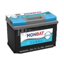 Batería Coche 12 Voltios 80 Amperios MONBAT Start-Stop EFB J 80Ah