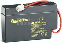 Batería 12 Voltios 800mAh Energivm MV1208