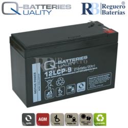 Batería 12 Voltios 9 Amperios 12LCP-9 Cíclica