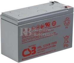 Batería 12 Voltios 9 Amperios Csb HRL1234WF2FR