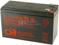 Batería 12 Voltios 9 Amperios Csb UPS12460F2