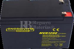 Batería 12 Voltios 9 Amperios Energivm MVH1290F2