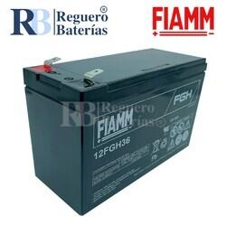 Batería 12 Voltios 9 Amperios Fiamm 12FGH36