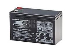 Bateria 12 Voltios 9 Amperios MK ES9-12