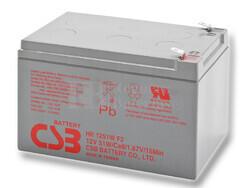 Batería 12 Voltios CSB HR1251W F2