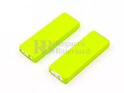 Batería 2 Células para teléfonos inalámbricos TELEKOM T-Plus 2 Euro C250 C300 Hagenuk HomeHandy Pico Ocip...