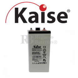 Batería 2 Voltios 300 Amperios Kaise Ultra Long Life KB2300