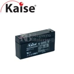 Batería 6 Voltios 1,2 Amperios Kaise KB612