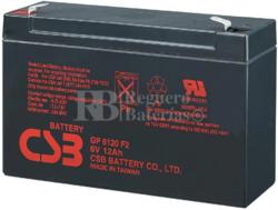Batería 6 Voltios 12 Amperios Csb GP6120