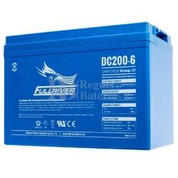 Batería 6 Voltios 200 Amperios DC200-6