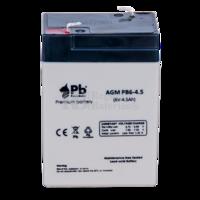Batería 6 Voltios 4.5 Amperios PB6-4.5