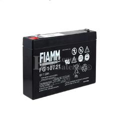 Batería 6 Voltios 7,2 Amperios Fiamm FG10721