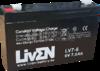 Batería 6 Voltios 7 Amperios LV6-7