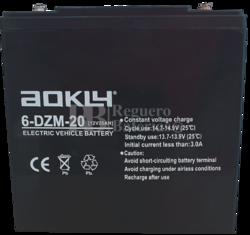 Batería 6DZM20 12 Voltios 20 Amperios Alta Descarga